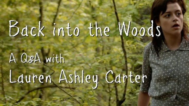 Back into the Woods: A Q&A with Laure...