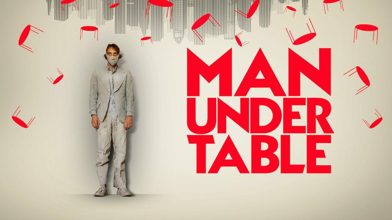 Man Under Table