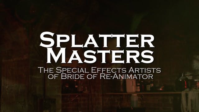 Splatter Masters