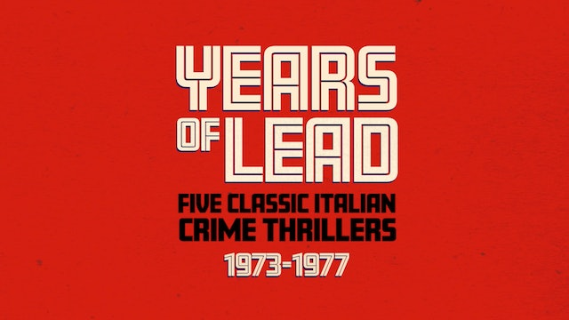 Years of Lead Collection - Trailer