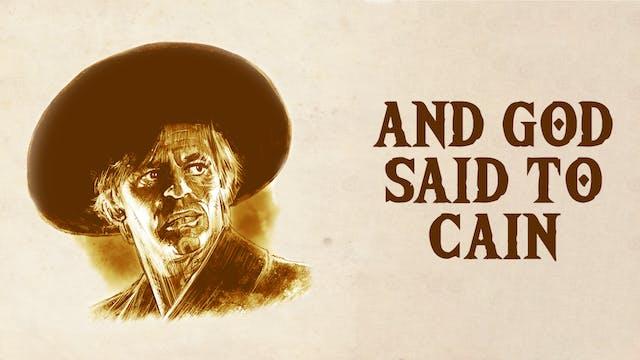 And God Said to Cain (Italian version)