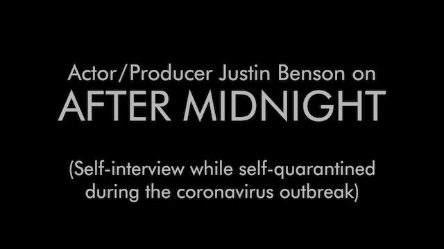 Self-Interview While Self-Quarantined...
