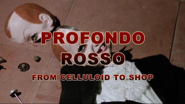 Profondo Rosso: From Celluloid to Shop