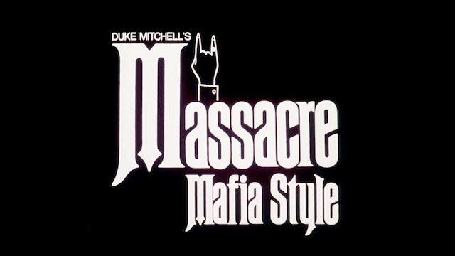 Massacre Mafia Style - Trailer