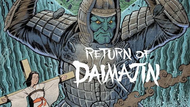 Return of Daimajin - Alternate opening credits