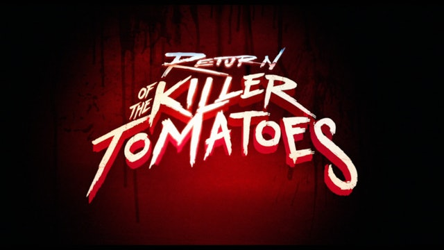 Return of the Killer Tomatoes - Trailer
