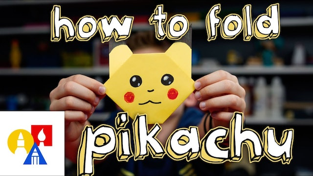 How To Fold Pikachu From Pokemon