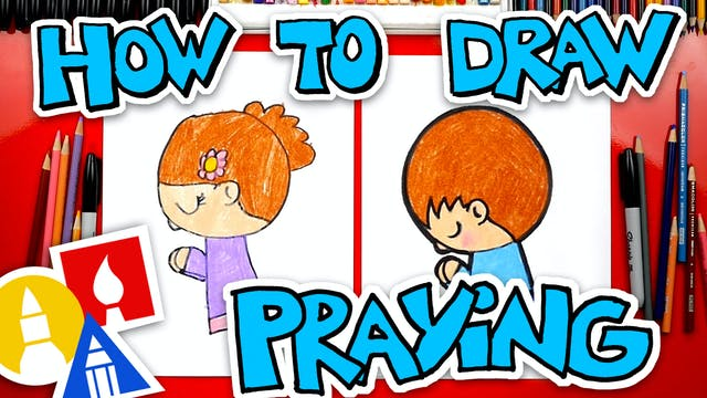 How To Draw A Child Praying