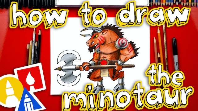 How To Draw The Minotaur