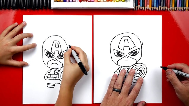 How To Draw Captain America - member