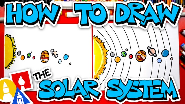 How To Draw The Solar System