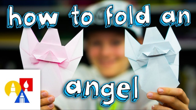 How To Fold An Origami Angel