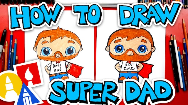 How To Draw Super Dad