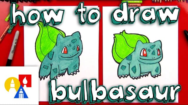 How To Draw Bulbasaur Pokemon