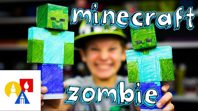 How To Make A Minecraft Zombie Papercraft