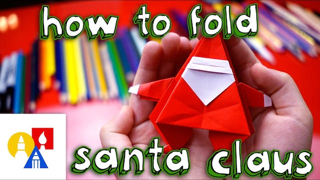 How To Fold An Origami Santa Claus
