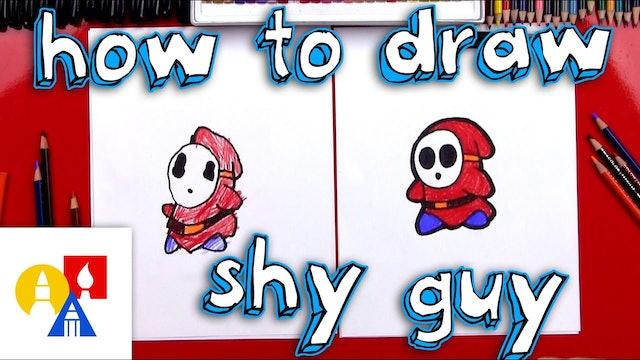 How To Draw Shy Guy