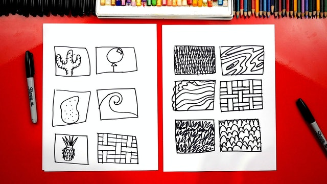Elements Of Art - Lesson 8 - Texture