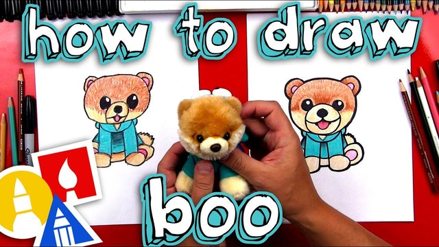How To Draw Boo The Cutest Dog In The World - member