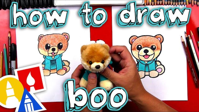 How To Draw Boo The Cutest Dog In The...