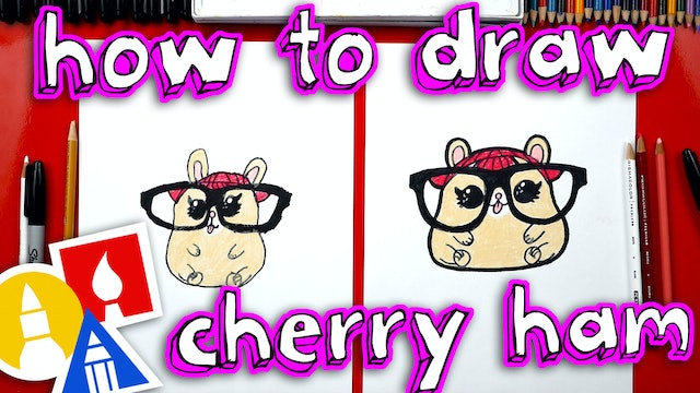How To Draw An LOL Surprise Pet - Cherry Ham