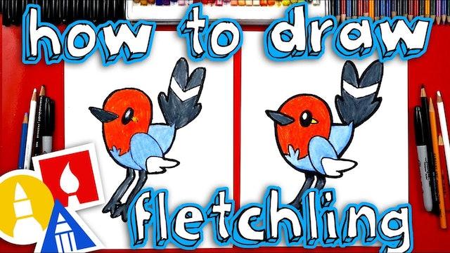 How To Draw Fletchling Pokemon