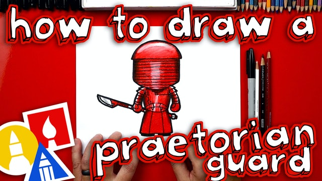 How To Draw A Praetorian Guard From Star Wars