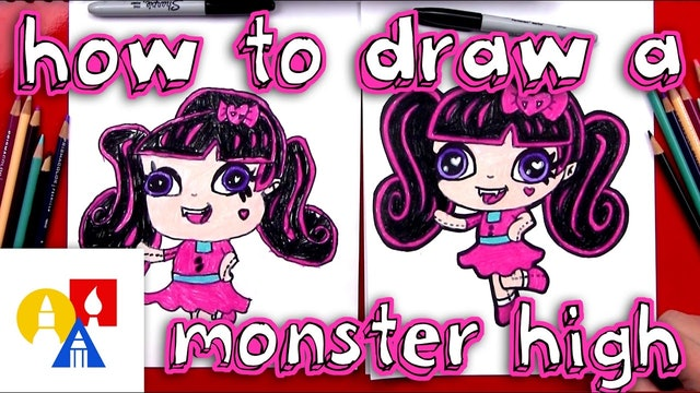 How To Draw A Monster High Mini