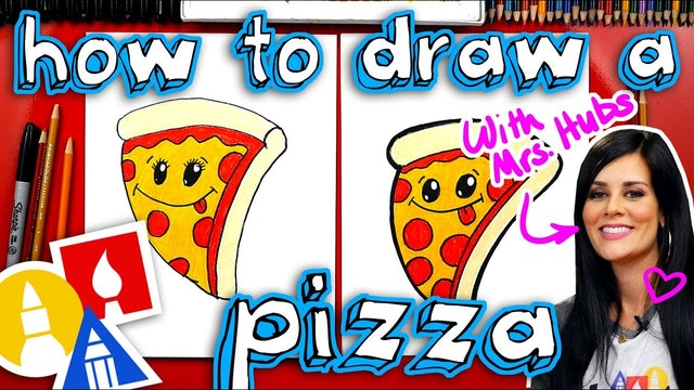 How To Draw A Funny Pizza + Artist Spotlight