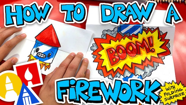 How To Draw A Firework Folding Surprise