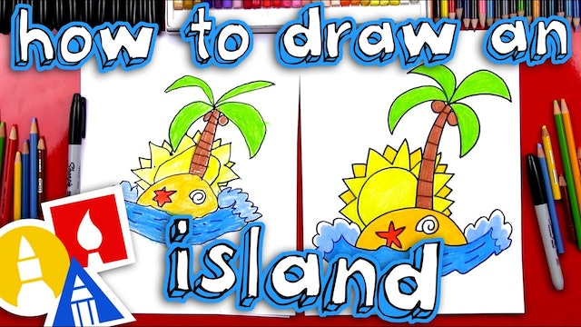 How To Draw An Island