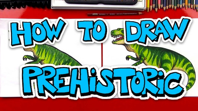 How To Draw Prehistoric Dinosaurs and More