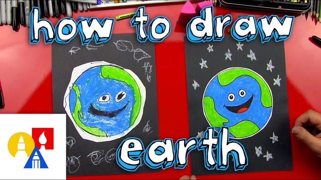 How To Draw The Earth