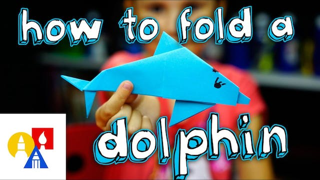 How To Fold A Dolphin
