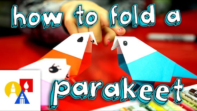 How To Fold An Origami Parakeet