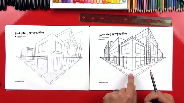 Perspective Basics - Two-Point Perspective (Part 2)