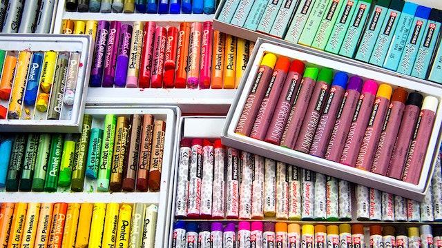 Art Tips - 5 Tips For Using Oil Pastels