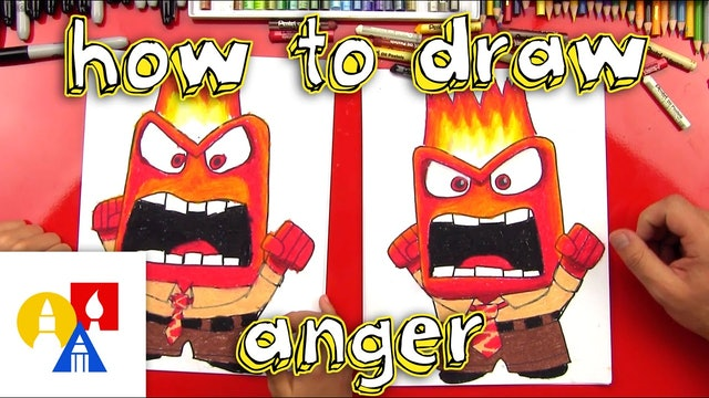 How To Draw Anger