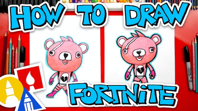 How To Draw Cuddle Team Leader Fortni...