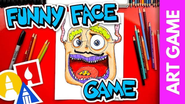 ART GAME: Funny Face Switch Off Chall...