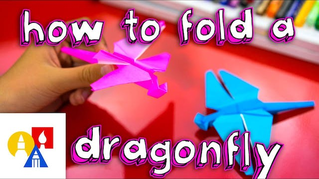 How To Fold A Dragonfly