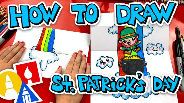 How To Draw St. Patrick's Day Folding...