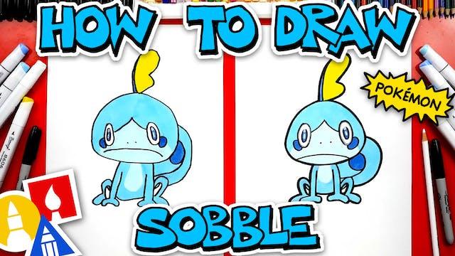 How To Draw Sobble Pokémon From Sword...