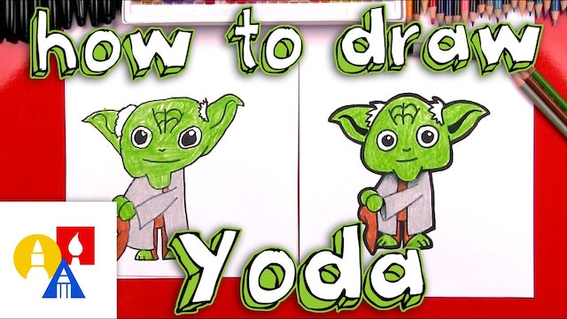 How To Draw Cartoon Yoda