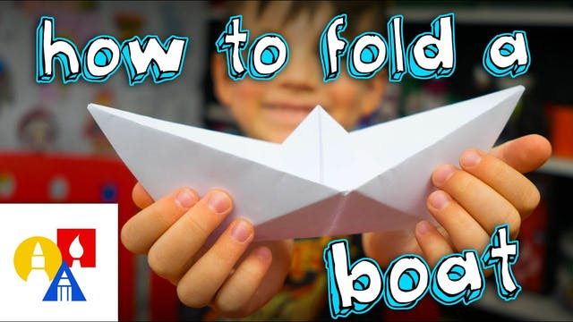 How To Fold A Simple Origami Boat