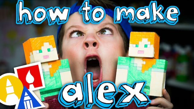 How To Make Papercraft Alex From Mine...