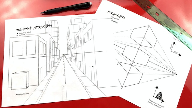 Perspective Basics - One-Point Perspective (Part 1)