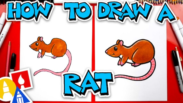 How To Draw A Rat - Year Of The Rat