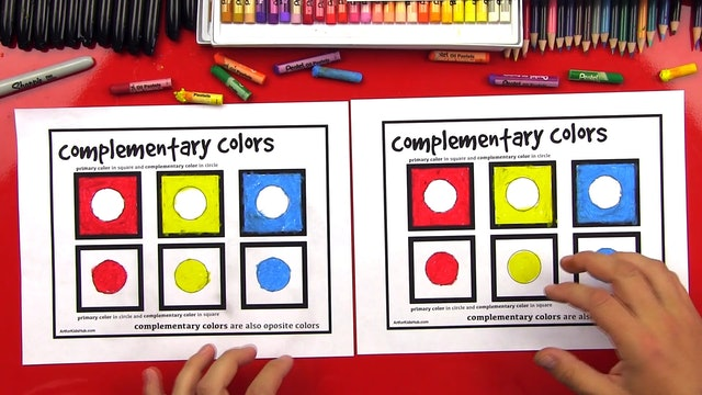 Elements Of Art - Lesson 4 - The Color Wheel - Complementary Colors