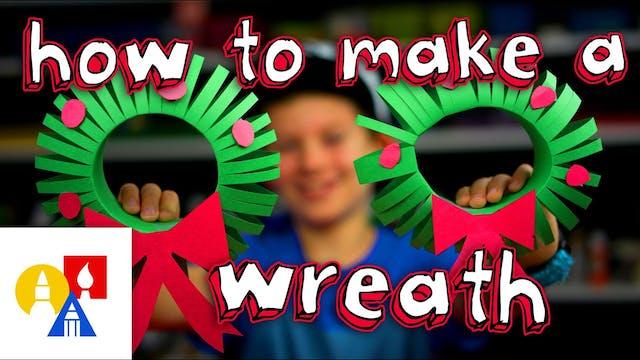 How To Make A 3D Christmas Wreath